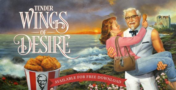 KFC Release Mother's Day Romance Novel Starring Colonel Sanders