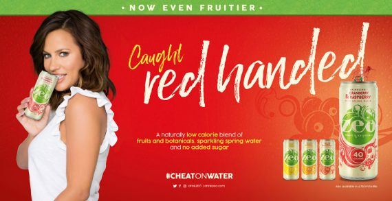 Once Upon A Time Launches New #CheatOnWater Campaign for Zeo