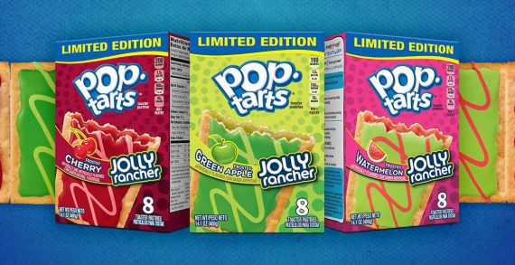 Pop-Tarts Unwraps Candy Fun with New Jolly Rancher Flavours