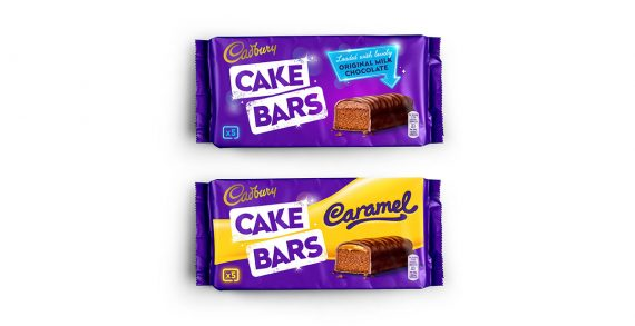 Robot Food Brings the Joy to Cadbury Cake Bars with New Design