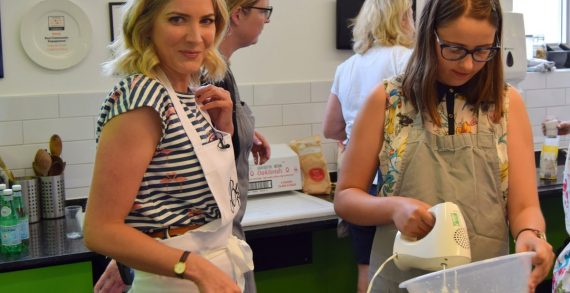 Belvoir Bakes with Bloggers and a Little Help from Lisa Faulkner