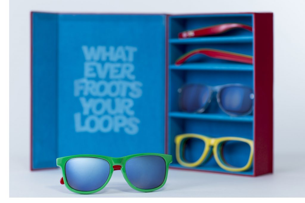 Kellogg's Froot Loops and Neff Serve up Shades as Colourful