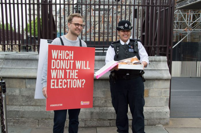 Dunkin' Donuts Unveil Cheeky 'Snack Election' Campaign in the UK