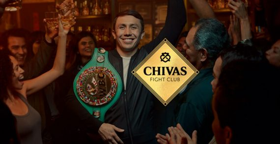 "Chivas Regal Team with Middleweight Champion Gennady ""GGG"" Golovkin to Launch The Chivas Fight Club"