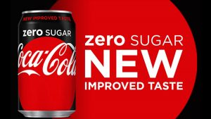 Coca-Cola Zero Sugar Launches in US with New and Improved