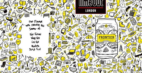 Frontier Lager Kicks Off Summer Partnership With Time Out London