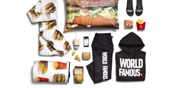 McDonald's to Release New Fashion Line in Celebration of Global McDelivery Day