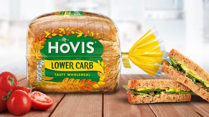 Elmwood Creates Uplifting Design for New Lower Carb Range from Hovis