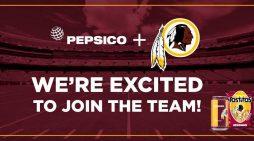 Washington Redskins Name PepsiCo Exclusive Beverage and Snack Partner