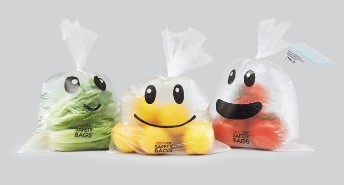 New Food Safety Bags by Cheil Worldwide Trialled by Tesco Consumers Following Pesticide Fears