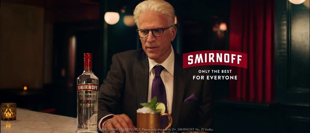 "Smirnoff Celebrates ""Made in America"" Heritage with New Campaign Starring Ted Danson"