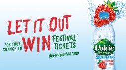Volvic Launches Sampling Activity via 'Let It Out' Campaign