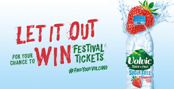 Volvic Launches Sampling Activity via 'Let It Out' Campaign