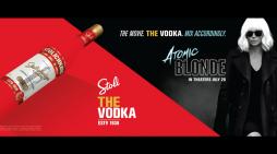 Stoli Vodka Served up as Atomic Blonde's Answer to James Bond's Martini
