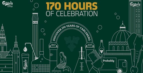 Carlsberg Group Celebrates 170 Years in 170 Hours