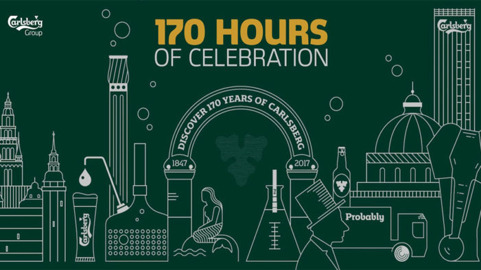 Carlsberg Group Celebrates 170 Years in 170 Hours