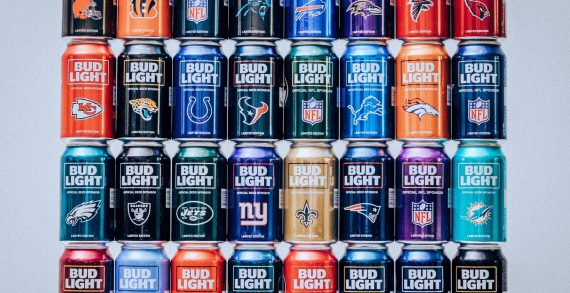 Bud Light Kicks Off 2017 NFL Season With Newly Designed Team Packaging