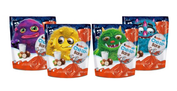 Kinder Choco-Bons Gets a Monster Makeover for Halloween