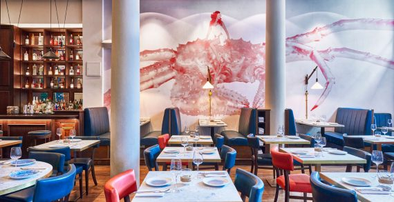 DesignLSM Provides a 'Fancy' Design for an Exciting New Dining Concept in London