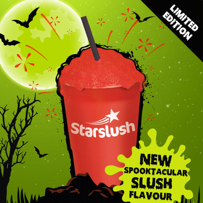 Starslush Gets Spooky for Halloween with New Blood Orange Flavour