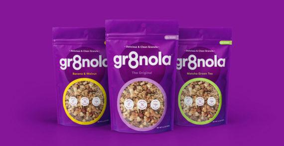 Deuce Studio Help Rebrand Gr8nola's All Natural Granola Products