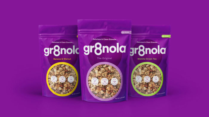 Deuce Studio Help Rebrand Gr8nola's All Natural Granola Products