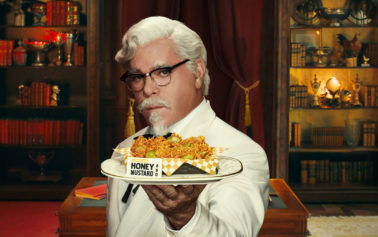 KFC's New Colonel Ray Liotta Finds Himself Torn Between Two Signature Flavours