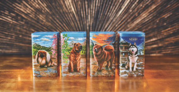 Newby Teas Launches Special Edition Collectible Festive Tea Caddy for the Chinese Year of the Dog 2018