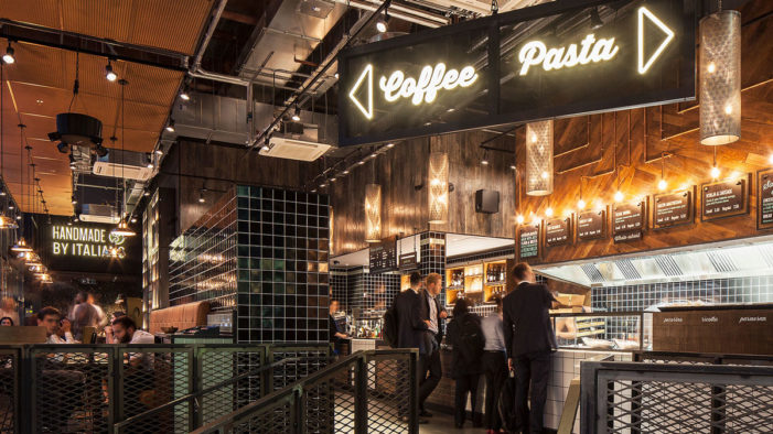 Mystery Develops Scarpetta for Canary Wharf in London