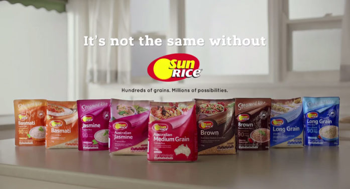 SunRice Launch New 'It's Not the Same without SunRice' Brand Platform