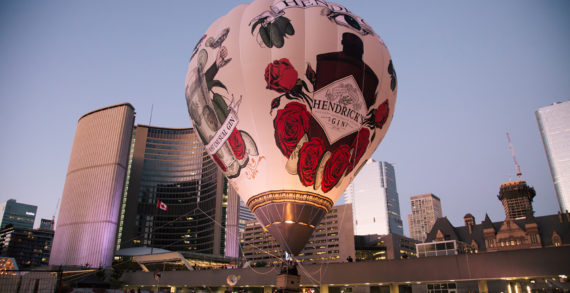 Digital Marketing Campaign for Hendrick's Gin unique hot air balloon experience