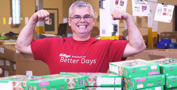Kellogg Company Employees Fight Hunger In Honor Of World Food Day
