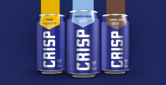KOFF Crisp Launches with a Bold Identity by bluemarlin