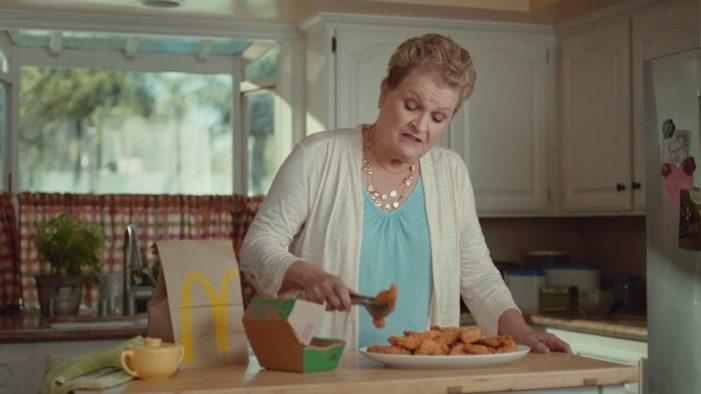 McDonald's New Campaign Celebrates The Grandness of Grandmas