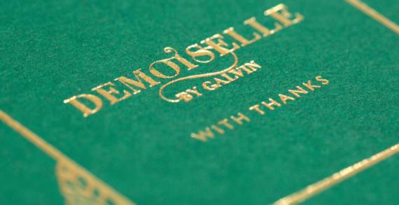 DesignLSM Create Branding and Visual Identity for Demoiselle by Galvin in Dubai