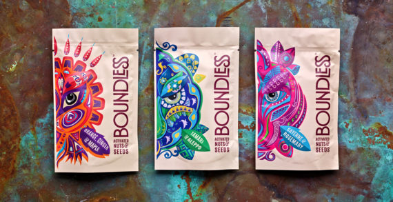 The Collaborators Create Striking New Brand For Boundless Activated Nuts and Seeds