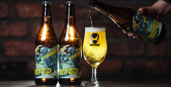 BrewDog's New Beer Encourages Drinkers to Make Earth Great Again