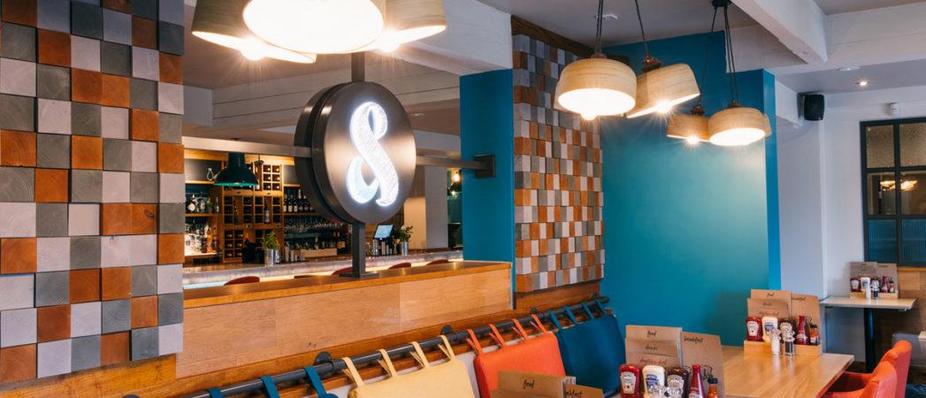 Bonfire Creates Identity for Whitbread's New Pub Restaurant Brand Cookhouse & Pub