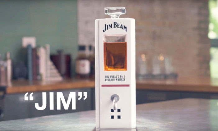 Jim Beam's Smart Assistant Pours You A Well-Deserved Shot At Your Request