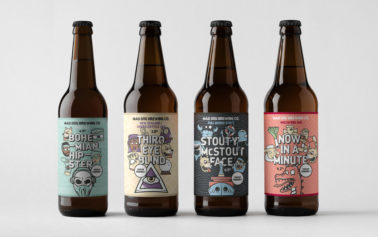 These Humorous Beer Labels Are Inspired By Skateboard Graphics