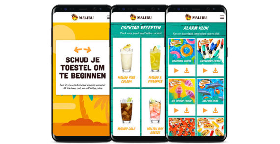 Malibu 'Because Summer' Campaign Launches Connected Bottle Trial in Amsterdam