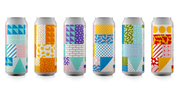 Temescal Brewing's Bold Design is a Lesson in Controlling Visual Chaos