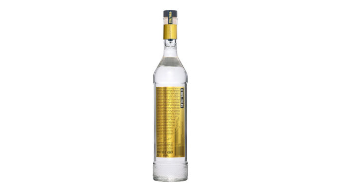 Stoli Vodka Unveils Innovative New Design for Super-Premium Stoli Gold