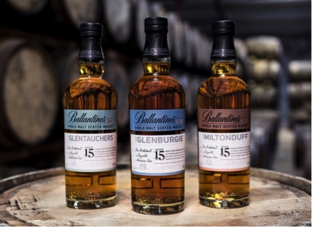Ballantine's Launches Single Malt Series with Design by Nude Brand Creation