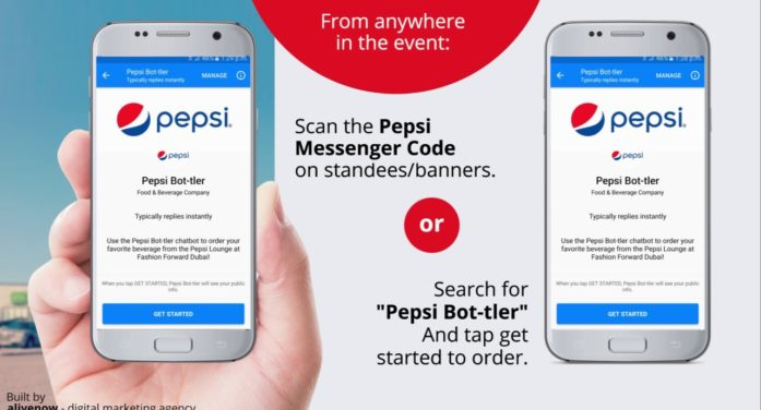 Pepsi Unveils a New Facebook Messenger Chatbot Called 'Bot-tler' in Dubai