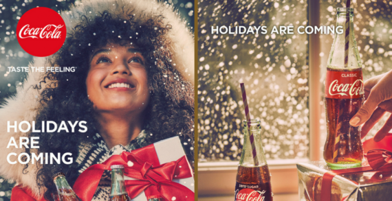 "Coke Zero Sugar to be Front and Centre of £7m ""Holidays Are Coming"" Campaign"