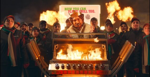 Burger King Lights up the BBQ in McDonald's Christmas Ambush