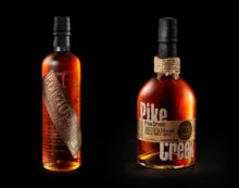 Davis Designs Limited Edition Pike Creek and Lot 40 for Corby Spirit and Wine