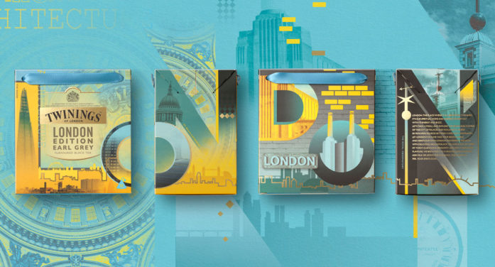 New Twinings Range Designed by BrandOpus Celebrates the Creativity and Buzz of London