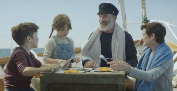 Captain Birdseye Gets Relaxed New Look in Latest Fish Fingers Campaign